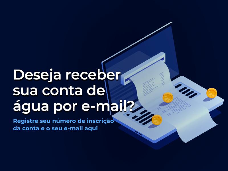 Conta por email